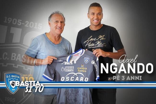 Officiel : Ngando quitte Rennes et signe à Bastia