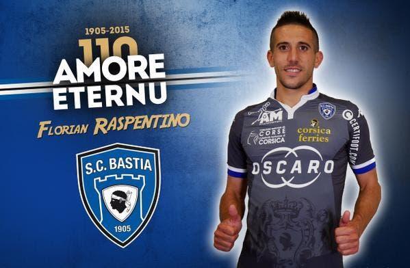 Raspentino retourne à Bastia