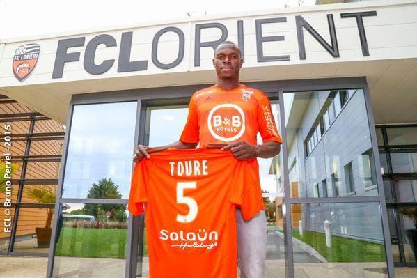 Zargo Touré débarque à Lorient