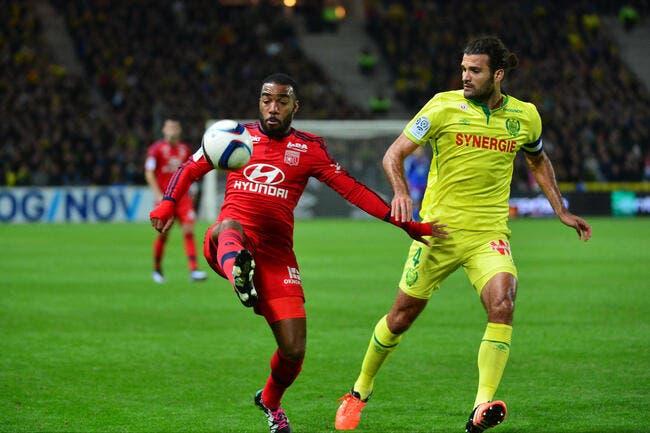 0-0 à Nantes, Lyon se rassure comme il peut