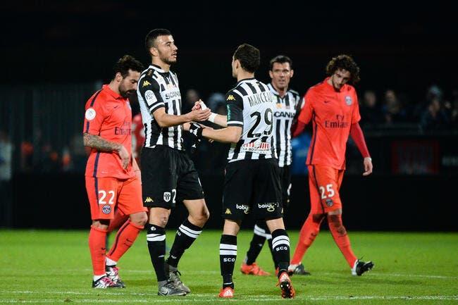 Angers invente la victoire à un point face au PSG
