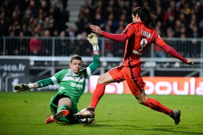 Le PSG applaudit le gardien d'Angers