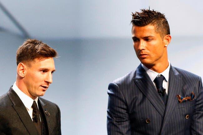Messi est un seigneur avec Cristiano Ronaldo