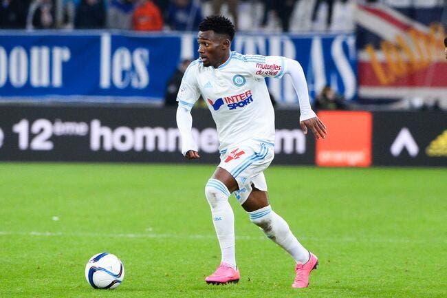 Nkoudou joueur du mois de novembre à l'OM