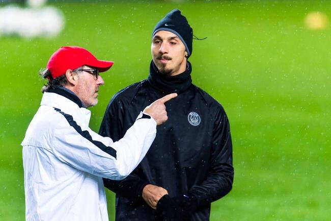 Prolonger Ibrahimovic ? Blanc n'a pas encore donné son accord