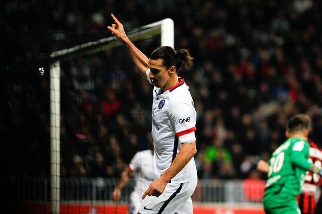 Ibrahimovic encore plus dans l'histoire du PSG