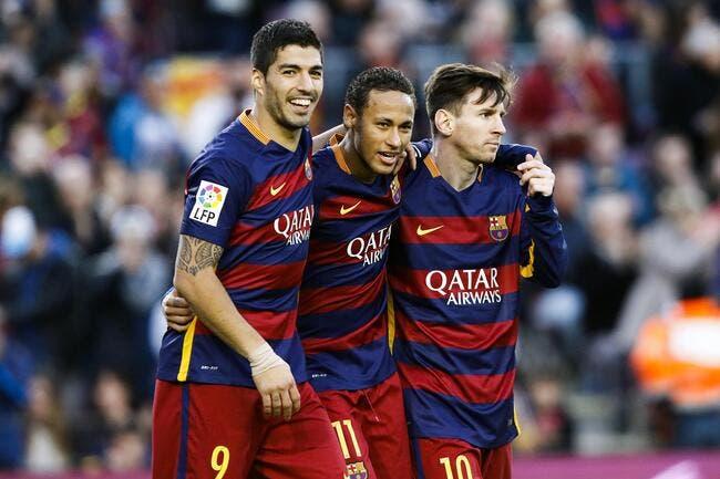 Messi-Neymar-Suarez, le meilleur trio d'attaque de l'histoire ?