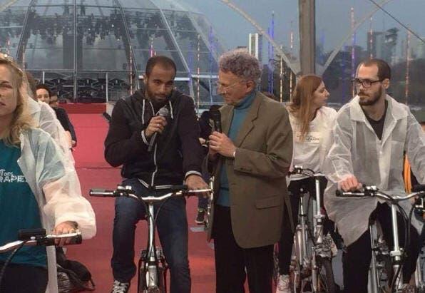 Lucas Moura apporte son soutien au Téléthon