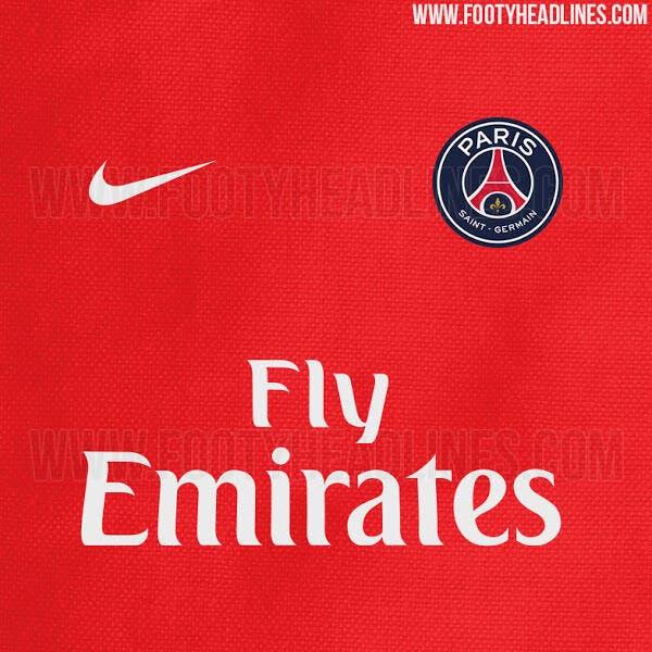 Déjà une fuite sur le futur maillot du PSG !