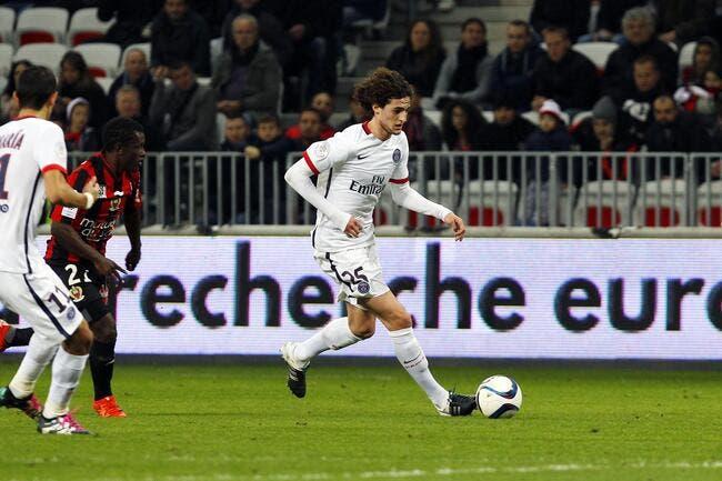 Rabiot a énervé Laurent Blanc au PSG