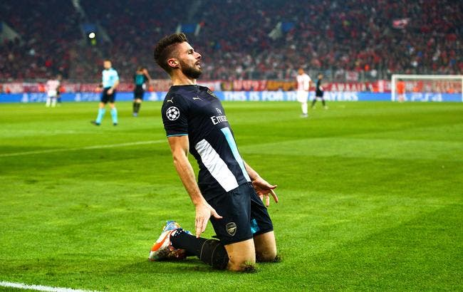 Giroud qualifie Arsenal !