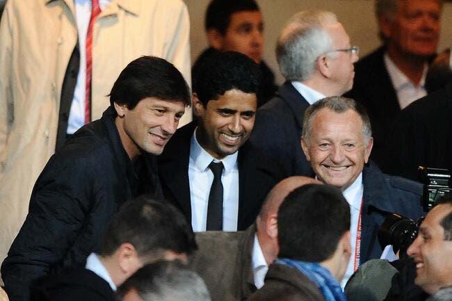 L'OL a deux entraîneurs en tête, Leonardo et Favre !