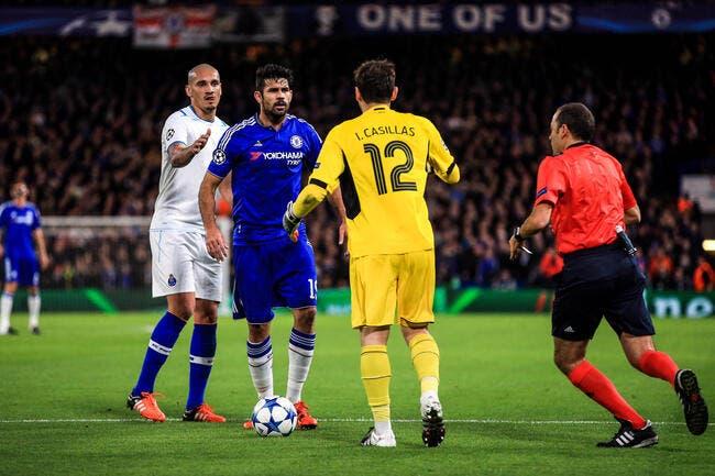 Casillas : Piétiné par Diego Costa, trollé par Mourinho