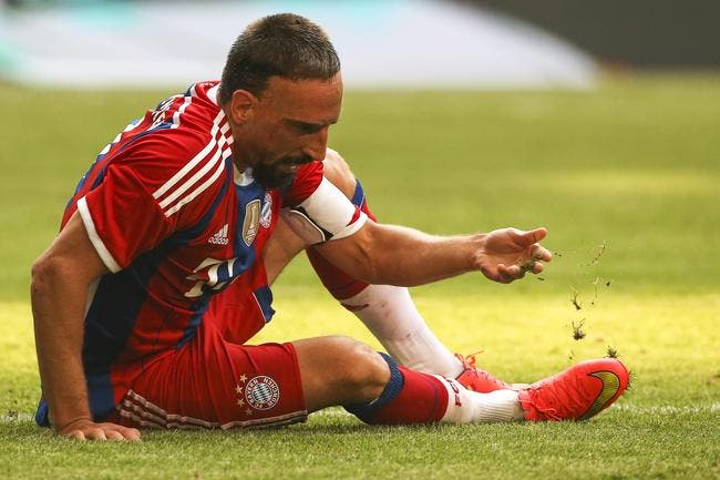 De nouveau blessé, Ribéry reviendra en 2016