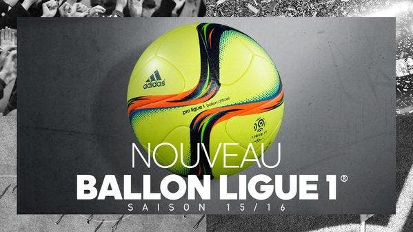 Photo : le nouveau ballon pour la Ligue 1
