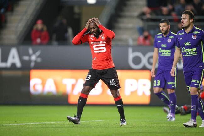 Rennes a réussi à ne pas battre Caen