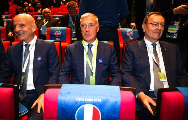 Deschamps ne fanfaronne pas après le tirage de l'Euro 2016