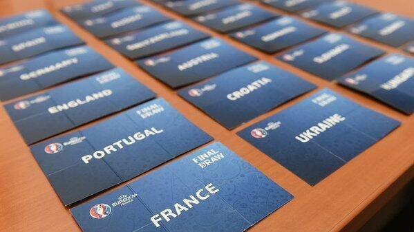 Euro 2016 : Revivez le tirage au sort