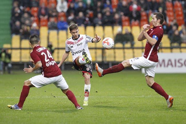 Metz - Dijon : 1-2