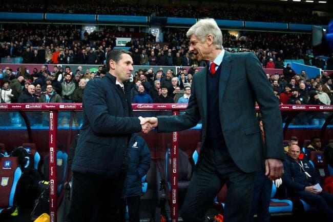 Aston Villa - Arsenal : 0-2