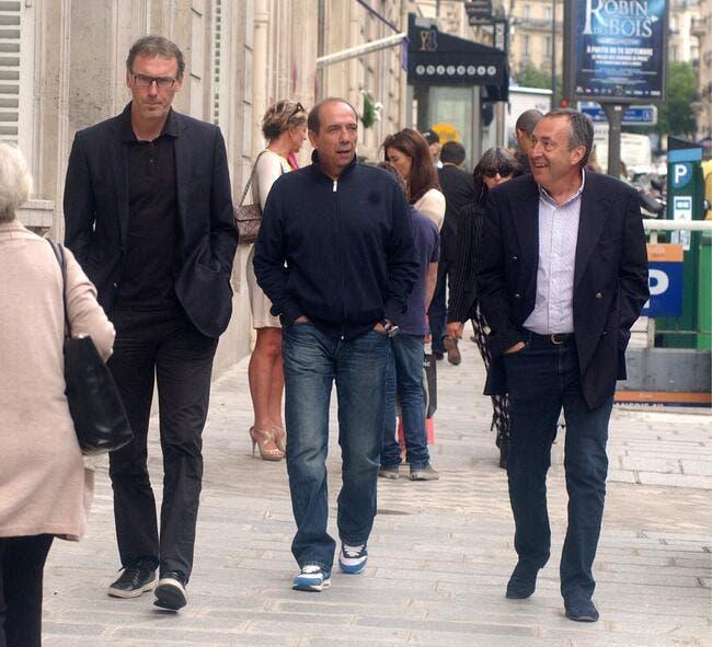 Laurent Blanc et le PSG, son agent annonce une décision proche