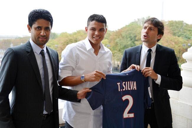 Le PSG veut Thiago Silva dans le rôle de Leonardo !