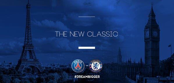 PSG-Chelsea, c'est reparti sur Twitter