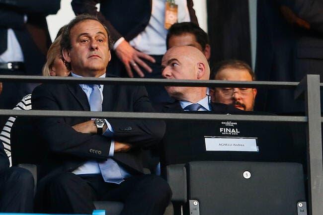 Platini officialise son refus de répondre à la FIFA