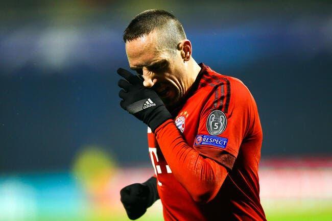 Encore un gros coup dur pour Ribéry !