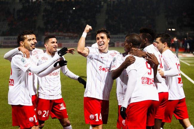 Evian Thonon Gaillard - Nancy : 0-1