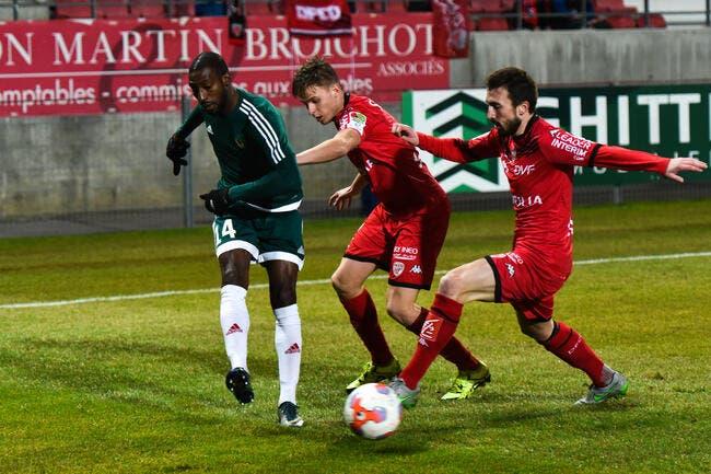 Dijon-Red Star neutralisé, Nancy champion d'automne