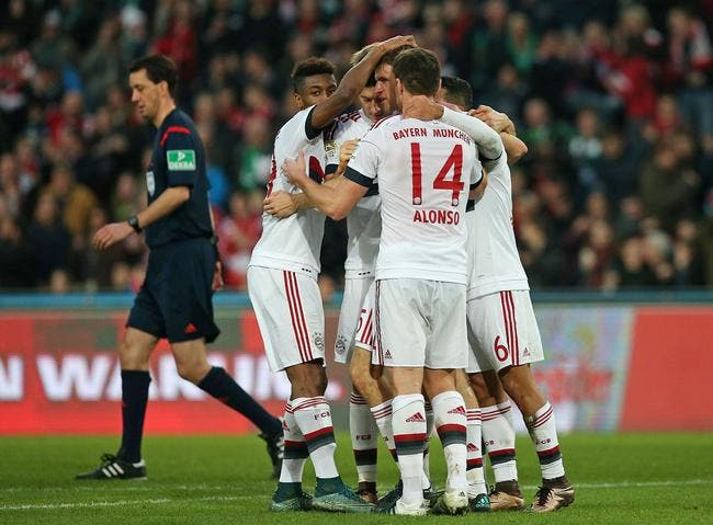 Le Bayern Munich creuse encore l'écart en Bundesliga