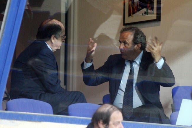 Le Graët «attristé et choqué» par la suspension de Platini