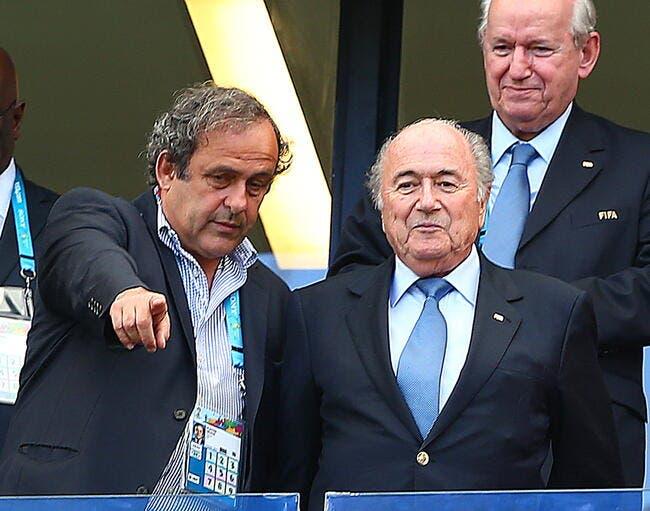 Platini et Blatter suspendus huit ans par la FIFA !