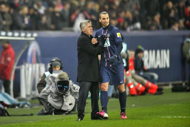 Ancelotti raconte comment Ibra et T. Silva ont boosté le PSG