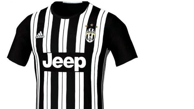 Le futur maillot 2016-2017 de la Juventus fait causer