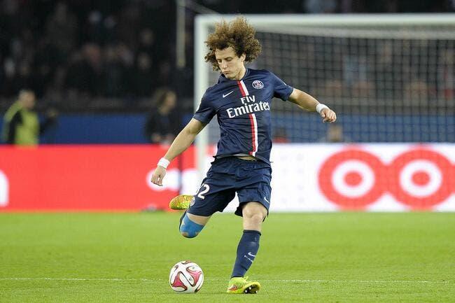 Le PSG ment sur les autographes, ça énerve David Luiz