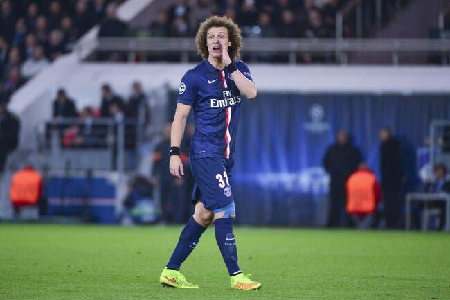 Au PSG, David Luiz tend une perche à Al-Khelaïfi