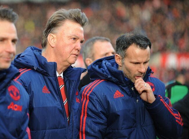 Van Gaal absent de l'entraînement à Manchester !