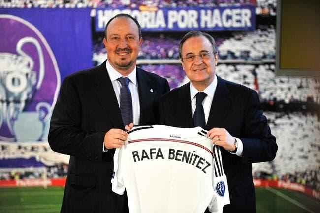 Benitez hurle au complot anti-Real Madrid et anti-Perez