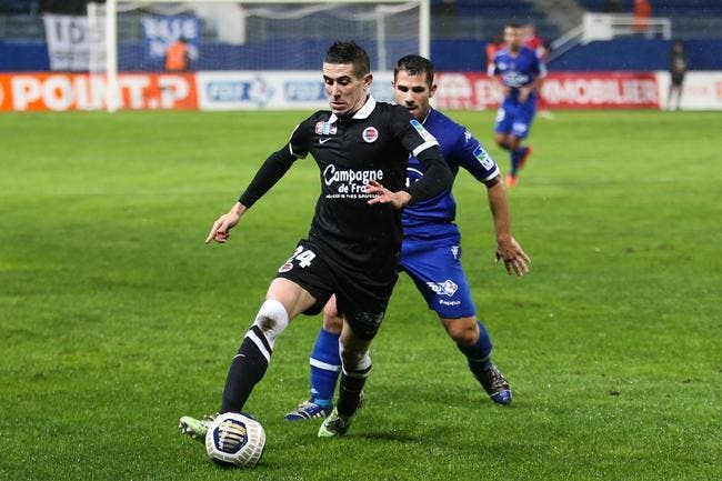 Officiel : Raspentino prêté à Dijon