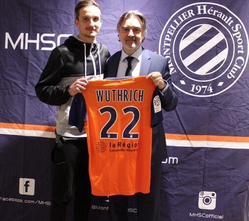 Officiel : Montpellier fait signer Wüthrich