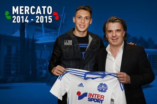 Officiel : Ocampos prêté à l'OM par Monaco