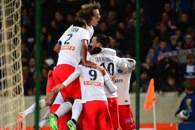 Le PSG passe sans forcer à Lille