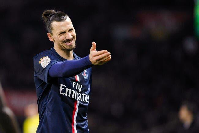Quand Zlatan l'ordonne, le PSG se tait