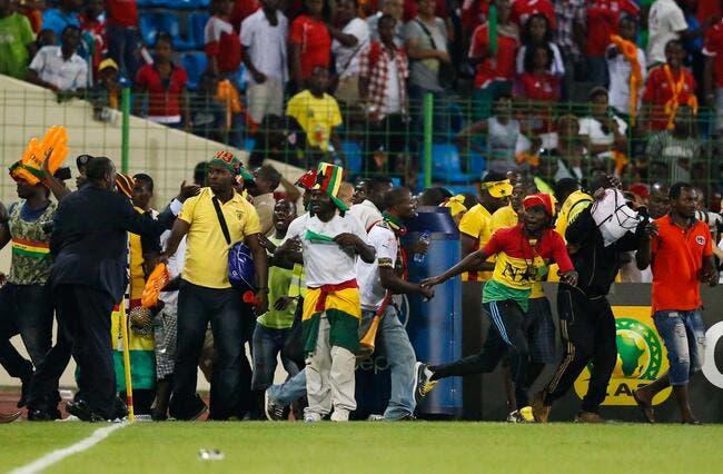 CAN : 36 blessés lors des incidents de Guinée équatoriale-Ghana