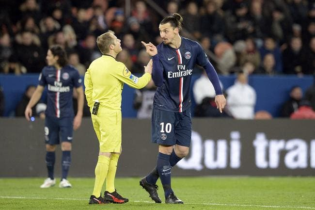 L'OL dénonce Ibrahimovic : « Il insulte les arbitres »