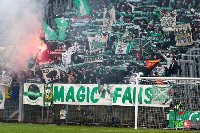 Les supporters de l'ASSE interdits au… Red Star