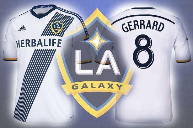 L'ahurissant prix du maillot de Steven Gerrard à LA