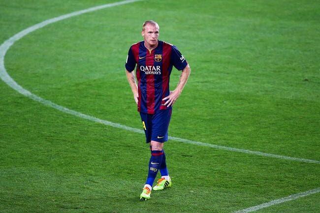 Mathieu s'excuse d'avoir trahi le vestiaire du Barça